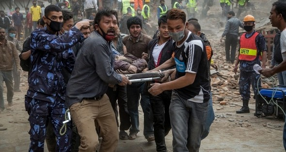 Donate to aid victims of Nepal Earthquake