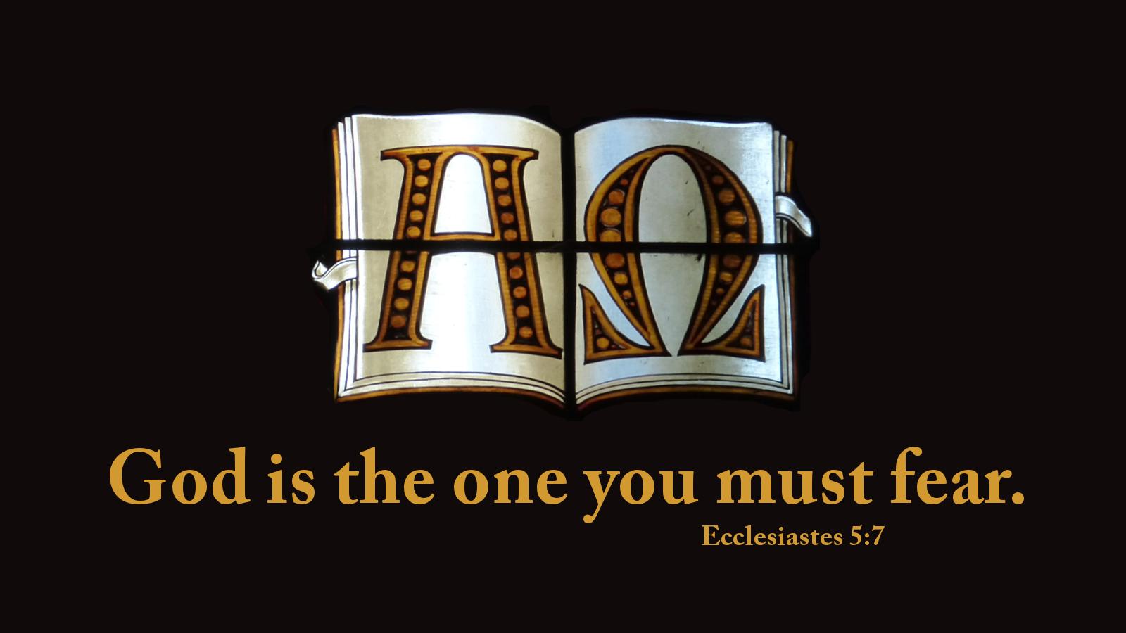 ecclesiastes5-7