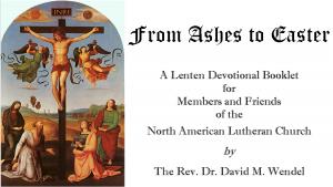 2014 Lenten Devotional Booklet now available