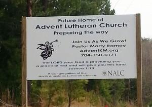 Advent Lutheran Church — Kings Mountain, NC