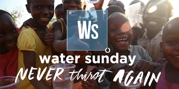 Celebrate Water Sunday on March 23